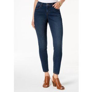Style & Co Mid Rise Curvy Fit Skinny Leg 4